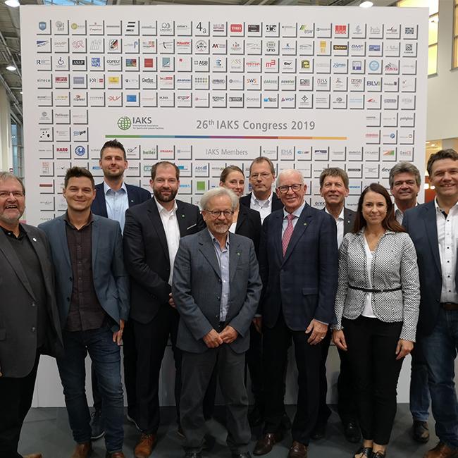 Julian Liebert im Vorstand der IAKS Deutschland